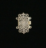 MEDIUM FILIGREE RECTANGLE
