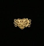 VERMEIL FILIGREE HEART