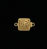 VERMEIL FILIGREE SQUARE