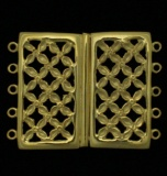 VERMEIL LATTICE-WORK SLIDER